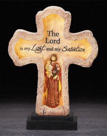 Saint Joseph Illuminated Cross