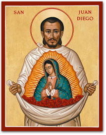 Saint Juan Diego icon - 3