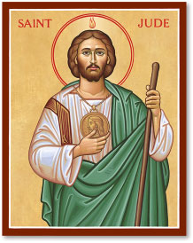Saint Jude the Apostle icon - 4.5