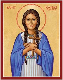 Saint Kateri Tekakwitha icon