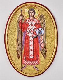 Saint Michael vestment emblem