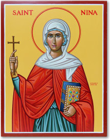 Saint Nina Original Icon