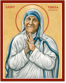 Saint Teresa of Calcutta icon