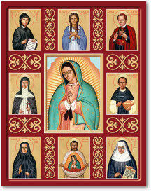Saints of the Americas Icon - 11