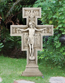 San Damiano Outdoor Crucifix