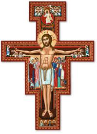 San Damiano Cross magnet