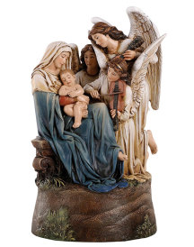 Song of the Angels Musical Figurine
