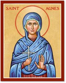 St. Agnes icon - 4.5
