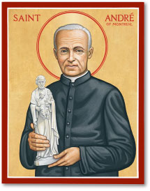 St. Andre of Montreal Icon - 8