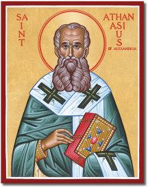 St Athanasius Icon
