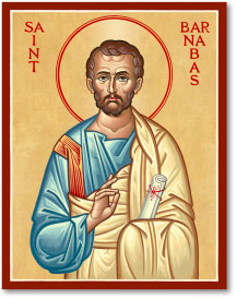 St Barnabas Icon - 8