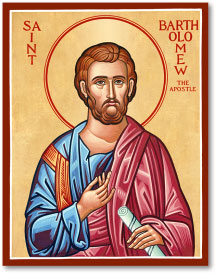 St. Bartholomew icon