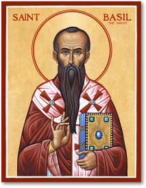 St Basil the Great Icon