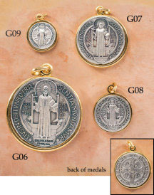 St Benedict Medal 2 1/2-inch