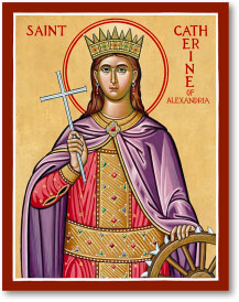 St. Catherine of Alexandria icon - 3