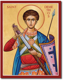 St. Demetrios icon - 8