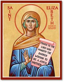 St. Elizabeth icon - 4.5