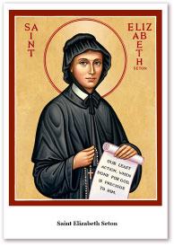 St. Elizabeth Seton Holy Cards