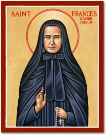 St. Frances Cabrini Icon - 4.5