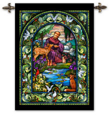 St. Francis and Animals Wall Hanging
