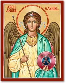 St. Gabriel icon - 3