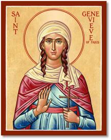 St. Genevieve icon