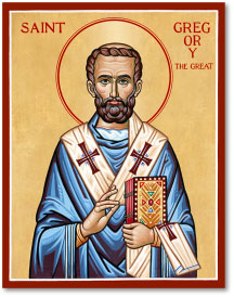 St Gregory the Great icon - 8
