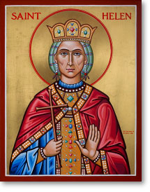 "St. Helen Original Icon 14"" tall"