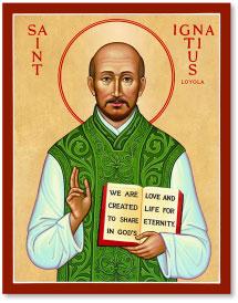 St. Ignatius Loyola icon - 3