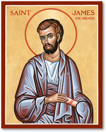 St James the Greater icon - 4.5