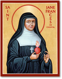 St Jane de Chantal icon - 4.5