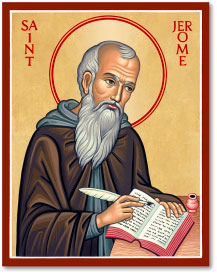 St. Jerome icon - 8