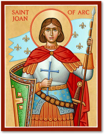 St Joan of Arc icon - 3