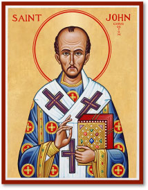 St John Chrysostom Icon - 4.5