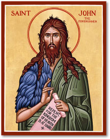 St John the Baptist Icon - 3
