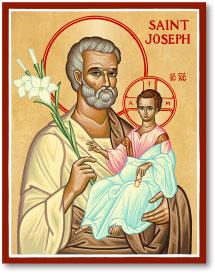 St. Joseph icon - 4.5