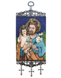 St Joseph Mini-Tapestry