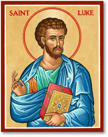 St. Luke icon - 15