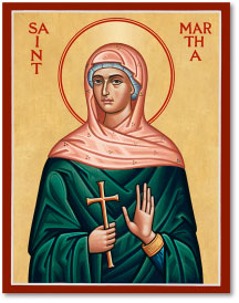 St. Martha icon - 4.5
