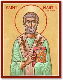 St. Martin of Tours icon - 3