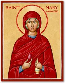 St Mary Magdalene Icon - 3