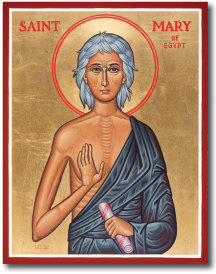 St. Mary of Egypt original icon