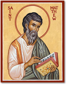 St. Matthew icon - 29