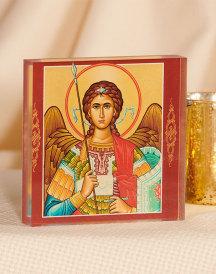St Michael Acrylic Glass Desktop Icon