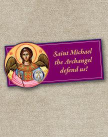 St Michael Inspirational Magnet