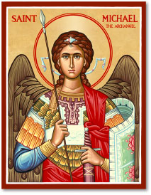 St Michael (military) Icon