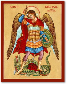 St Michael the Defender icon - 4.5
