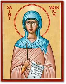 St. Monica icon - 3