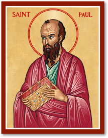 Saint Paul Icon Magnet