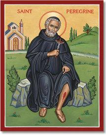St. Peregrine icon - 3